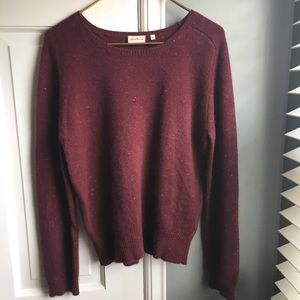 Sweaters - Jackpot maroon sweater by anthropology